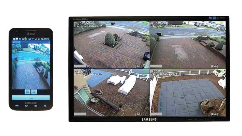 Home surveillance and home security systems on long island.