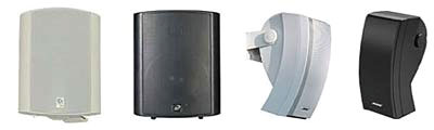 Outdoor surface mounted speakers | 631-INSTALL is located in Amityville, NY